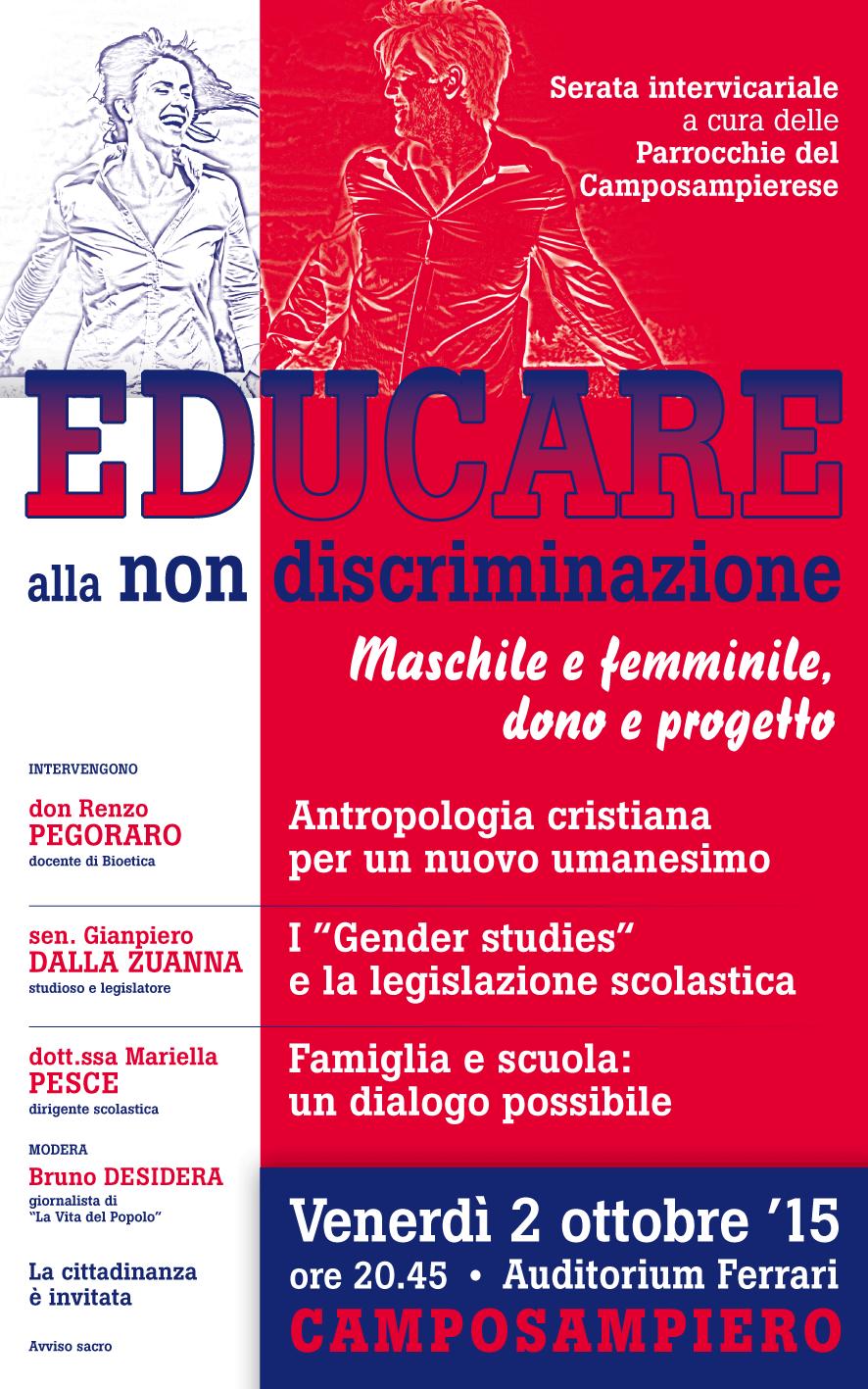 Educare alla non discriminazione - Locandina 30x48 Set.15